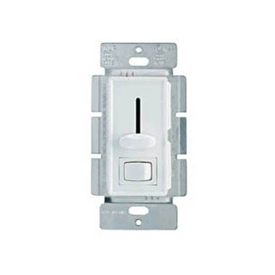 Slide Dimmer with ON/OFF Switch, Decora style, Pkg/2