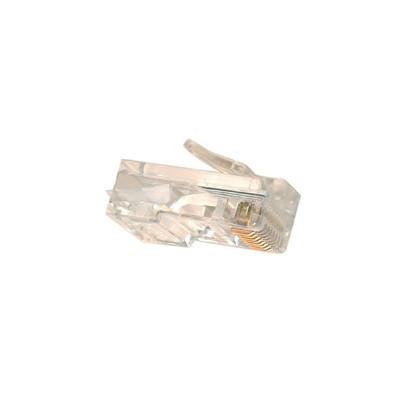 CAT5e - 8 Conductor RJ45 Plugs, 50u, Pkg/10 CSA-RU