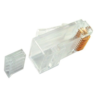 CAT6 - 8 Conductor RJ45 Plugs, 50u, Pkg/100 CSA-RU