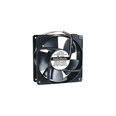 Fan 12VDC, 120mm x 38mm, 85 CFM, Sleeve Bearing