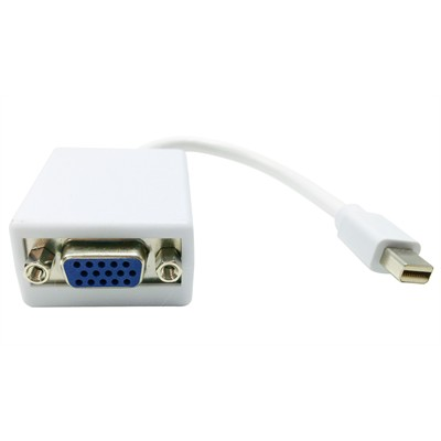Mini DisplayPort (M) to VGA (F) Adapter