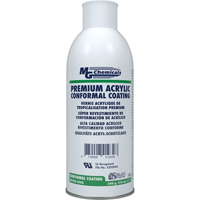 Premium Acrylic Conformal Coating, Aerosol 340g