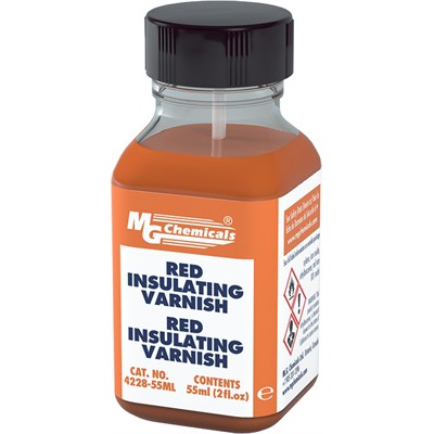 Red Insulating Varnish - 55mL