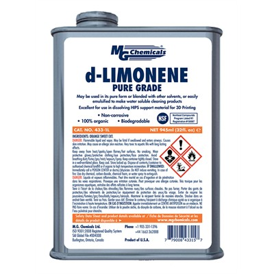 d-Limonene - HIPS Solvent, Pure Grade, 1G