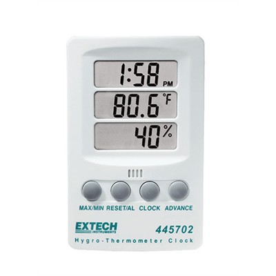 Hygro -Thermometer Clock