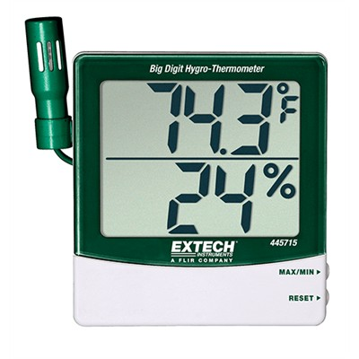 Big Digit Hygro-Thermometer with Remote Probe