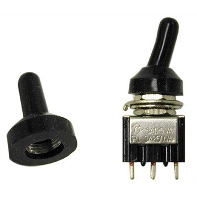 451 905 Weatherproof Boot Mini Toggle Switch M6 X 0 75