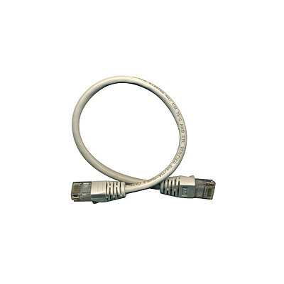 CAT5e RJ45 Patch Cable - 1ft Grey