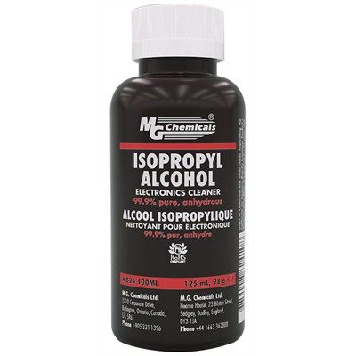 Isopropyl Alcohol - Liquid, 100mL