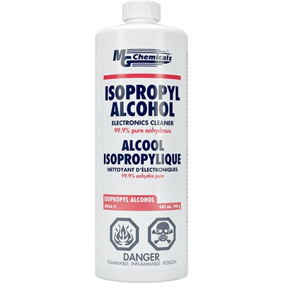Isopropyl Alcohol - Liquid, 945mL, Case of 6