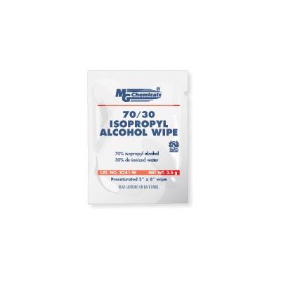 Isopropyl Alcohol 70/30, Wipes, Single Wipe