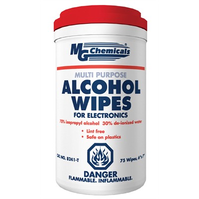 Isopropyl Alcohol 70/30, Wipes, 75 Wipes