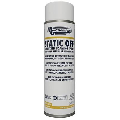 STATIC OFF™ Antistatic Foaming Spray - 450g, Aerosol