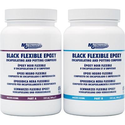 Black Flexible Epoxy, 450mL