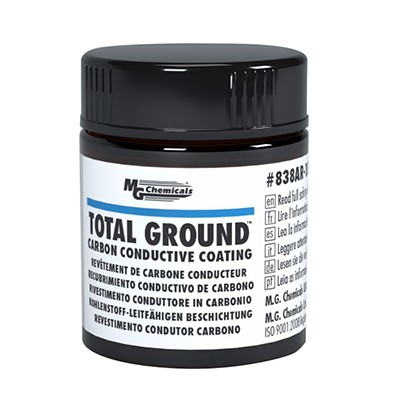 TOTAL GROUND™ Carbon Conductive Paint., 12mL, Jar