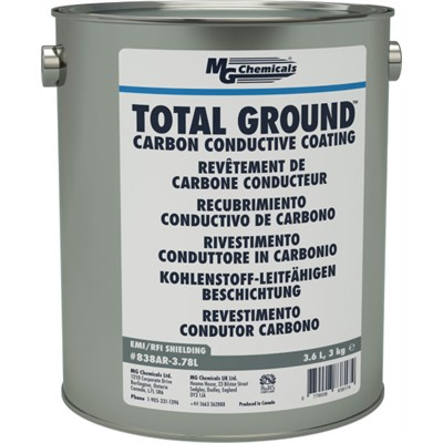 TOTAL GROUND™ Carbon Conductive Paint., 3.6L, Can