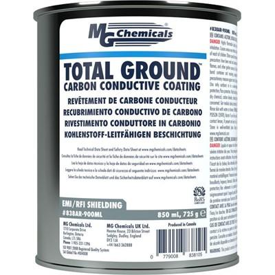 TOTAL GROUND™ Carbon Conductive Paint., 850mL, Jar
