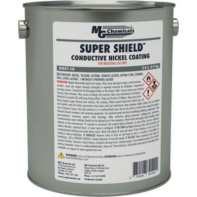 Super Shield™ Nickel Conductive Coating, 3.6L (0.96 gal)