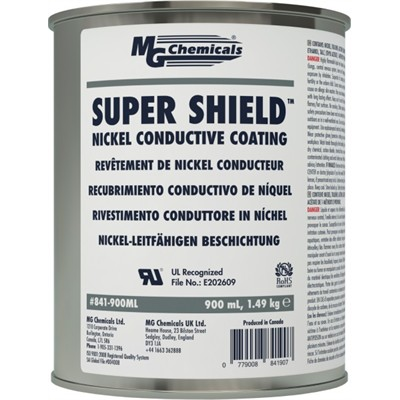Super Shield™ Nickel Conductive Coating, 900mLL (30.4 fl ozl)