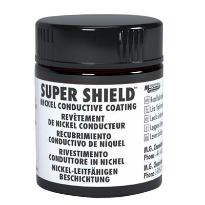 Super Shield™ Nickel Conductive Coating - Liquid, 12mL Net Volume