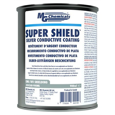 SUPER SHIELD™ Silver Conductive Paint - 850mL, Can