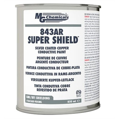 Super Shield Silver Coated Copper Conductive Paint, 927g