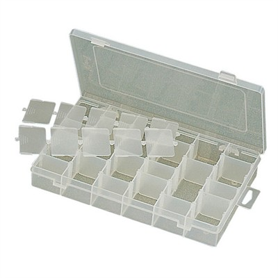 Parts Box - 6 Sections w/ Dividers, 280 x 178 x 45mm