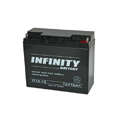 bt 12v18 12 volt 18ah rechargeable sla battery. Black Bedroom Furniture Sets. Home Design Ideas