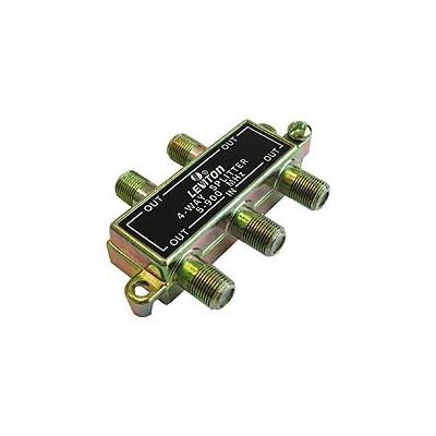 C5004 | 4 Way Splitter, 5-900MHz, Pkg/12
