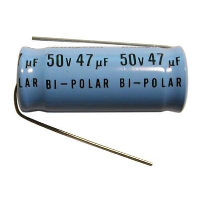 1db51b8ffb 47uF   50V Electrolytic Non Polar Capacitor - Axial