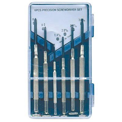 ct 710 mini screwdriver set 2 phillips 4 slotted. Black Bedroom Furniture Sets. Home Design Ideas
