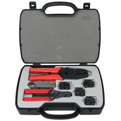 ctk 3001 circuit test ratchet crimp tool kit. Black Bedroom Furniture Sets. Home Design Ideas