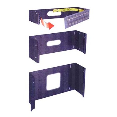 """Hinged Panel Mount - 6 space, 10.5"""" H"""