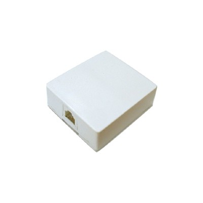 RJ45 Box - Surface Mount Single with connector