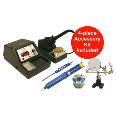 sx 500d kit1 variable temp soldering station 60w iron digital. Black Bedroom Furniture Sets. Home Design Ideas