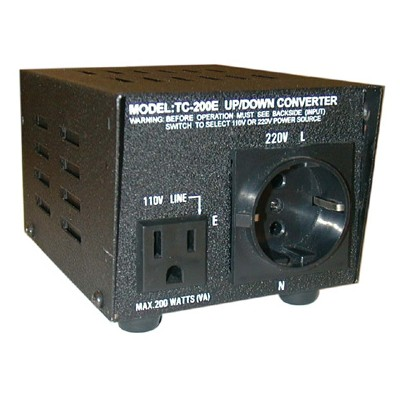 Foreign Voltage Up/Down Converter - 500W Europe Plug