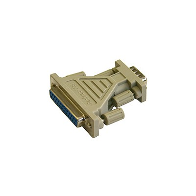 AT Serial Adapter - DB25F-DB9M