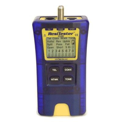 Tp3x X Resi Tester Whole House Cable Tester
