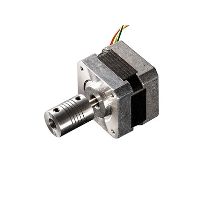 Motor Shaft Flex Coupler - Aluminum, 5mm-8mm