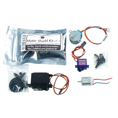 Motor Party Kit for Arduino
