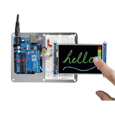 """3.5"""" TFT 320x480 + Touchscreen Breakout Board w/MicroSD Socket - HXD8357D"""