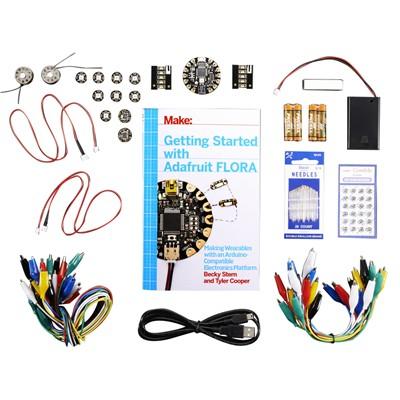 "Adafruit FLORA Starter Kit w/ ""Getting Started"" Book"