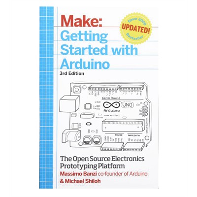 Make: Getting Started with Arduino Manual [3rd Edition] (Massimo Banzi, Michael Shiloh], Paperback