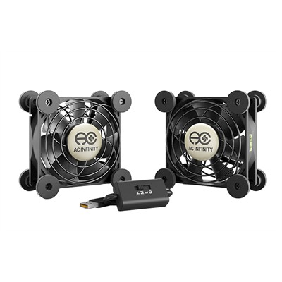 USB Fan, Dual, 80mm