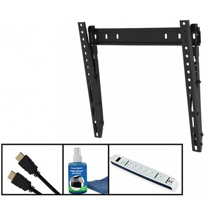 """Mount for 26-55"""" LCD and LED TV's - w/Tilt - includes BONUS accessories"""