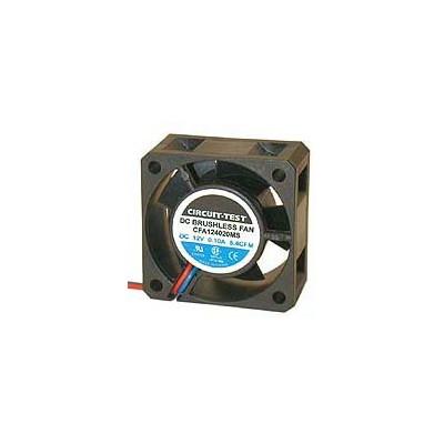 Fan 12VDC, 40mm x 20mm, 7.09 CFM, Sleeve Bearing, 2 Wire