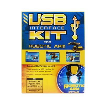 Robotic Arm USB Interface Kit, Windows 10