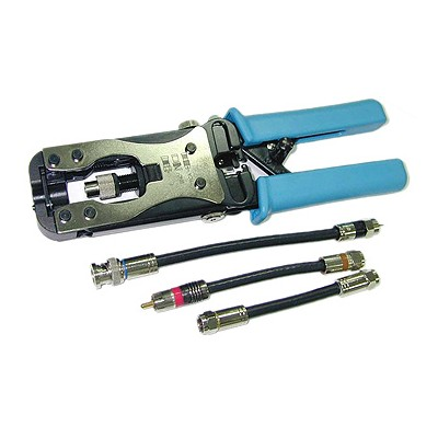 CT-419   Compression Crimp Tool - BNC, F, RCA Connectors