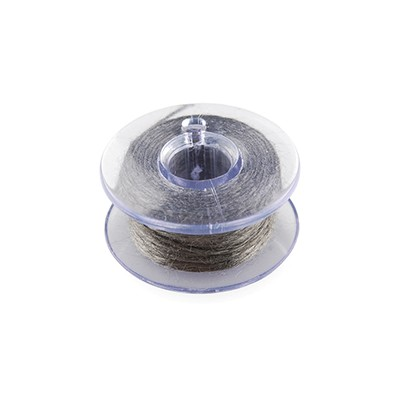 Conductive Thread - Stainless Steel, 30ft