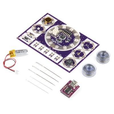 LillyPad Arduino - ProtoSnap Development Board